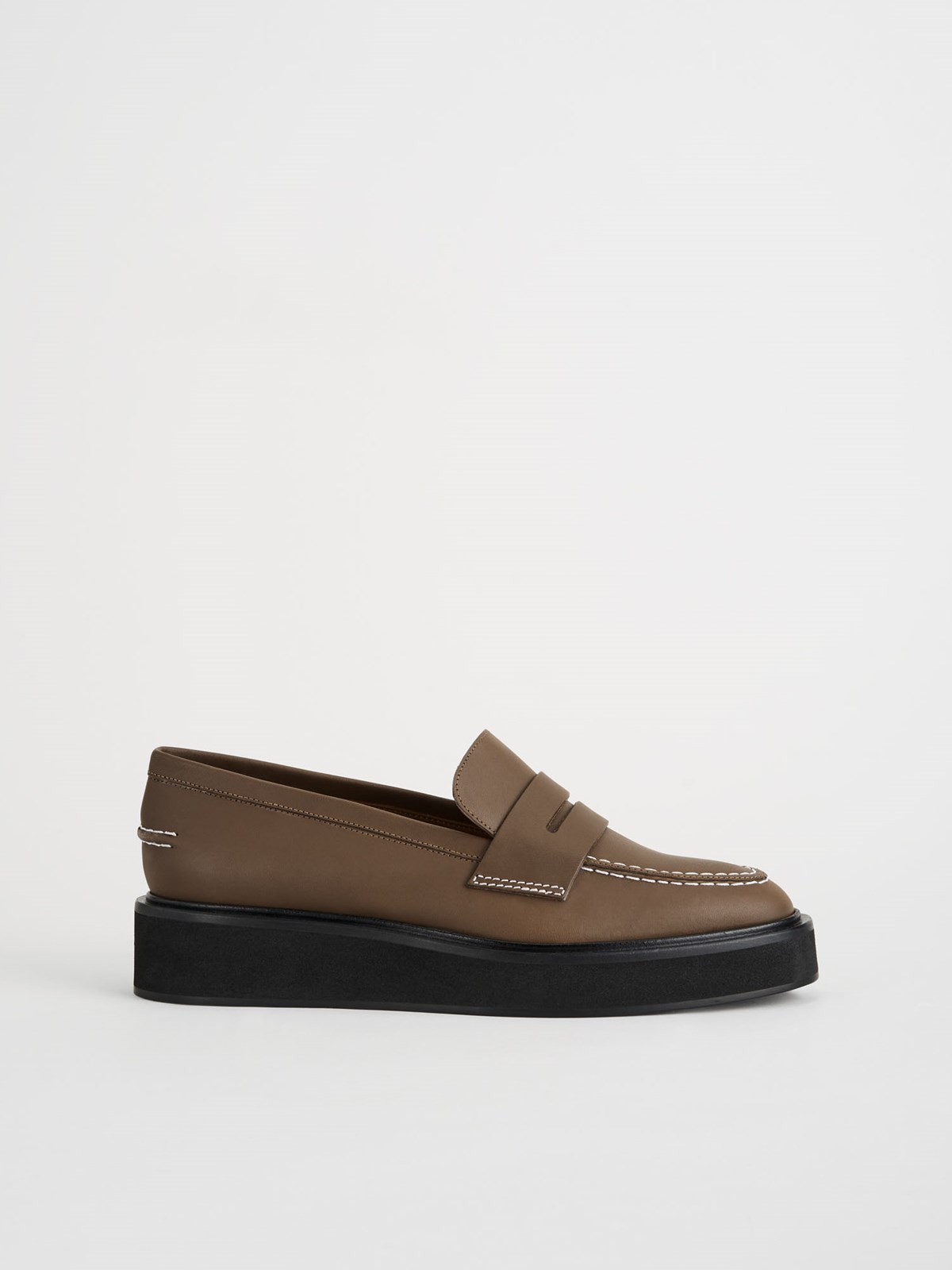 Monsano Khaki Brown Chunky Loafer