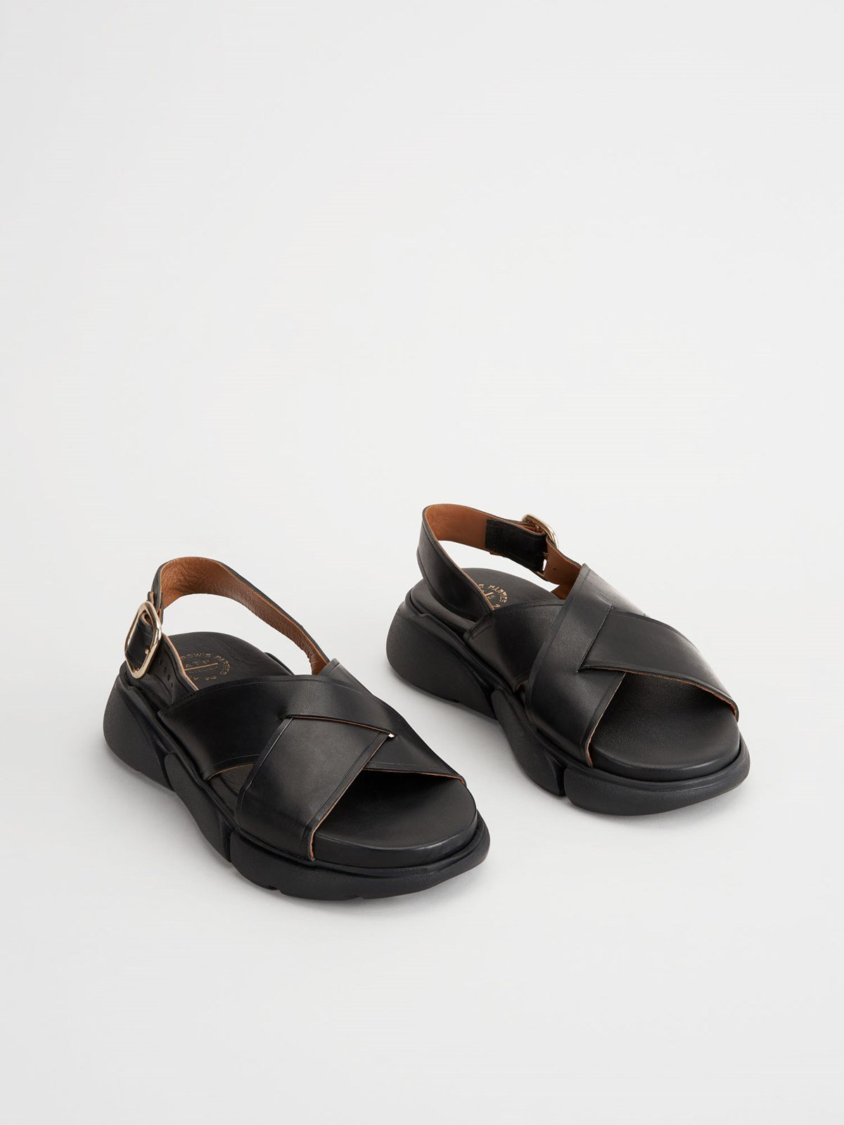 Barisci Black Chunky sandals