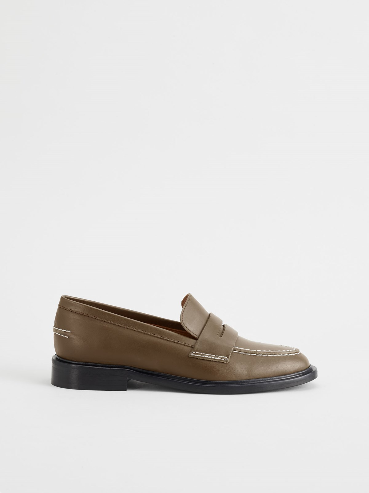 Monti Khaki Brown Loafers