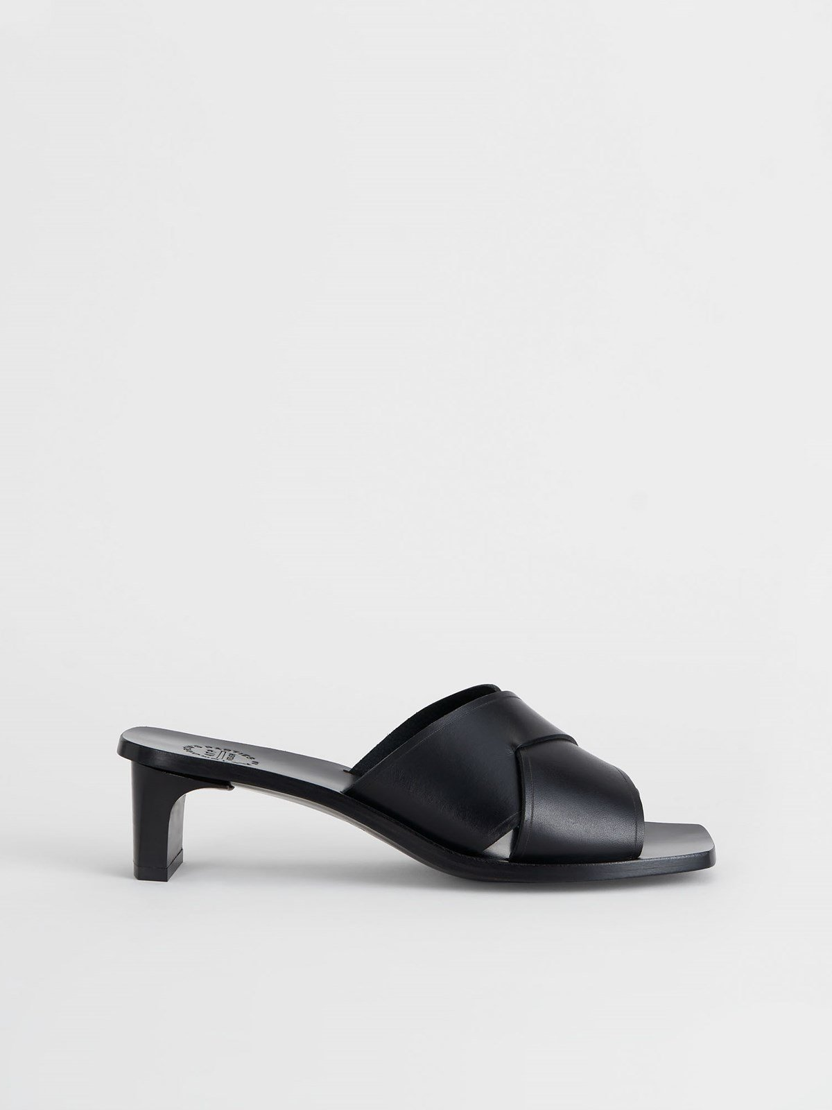 Stornarella Black Heeled sandals