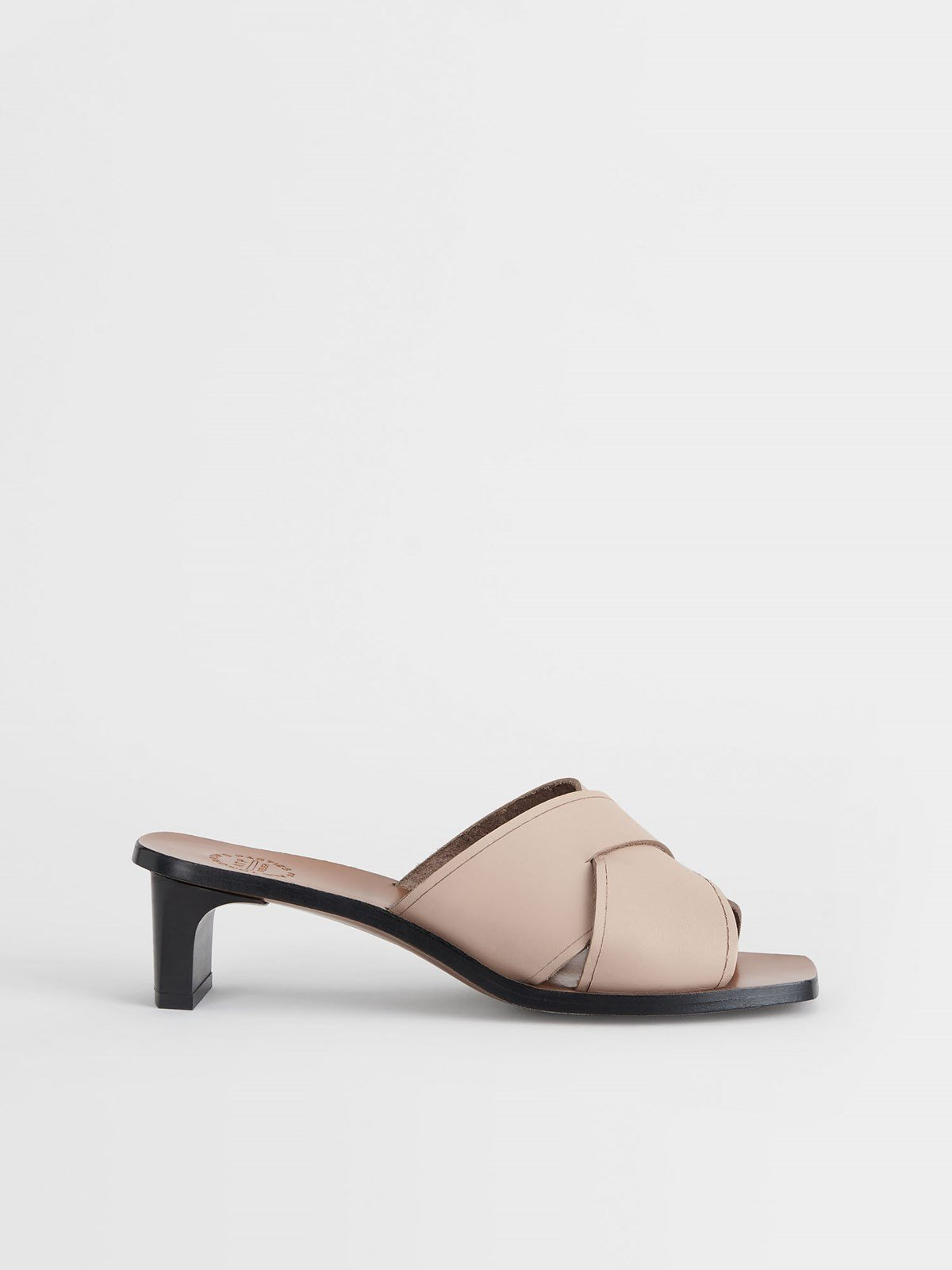 Stornarella Sand Heeled sandals
