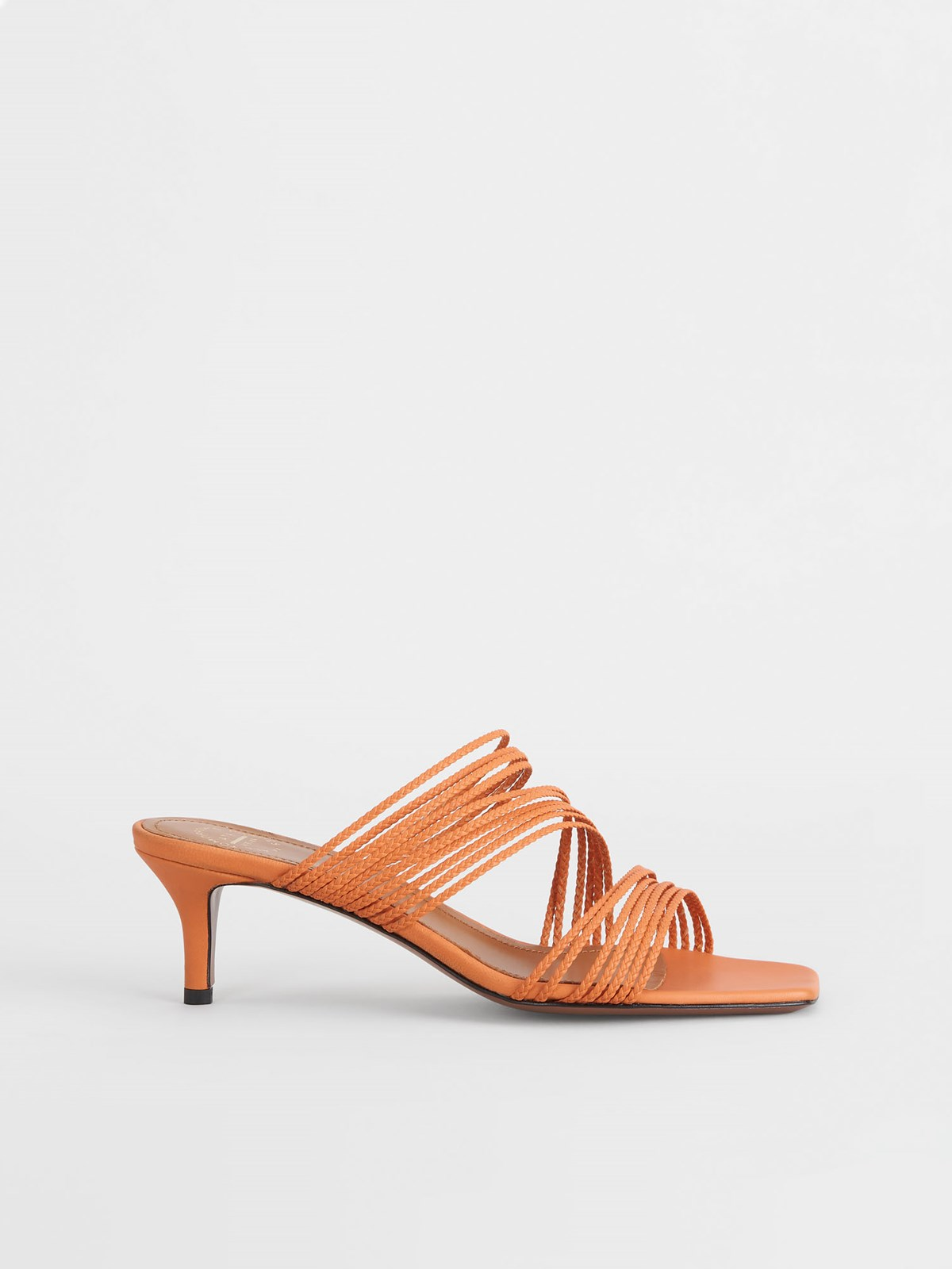 Avetrana Mandarin Heeled sandals