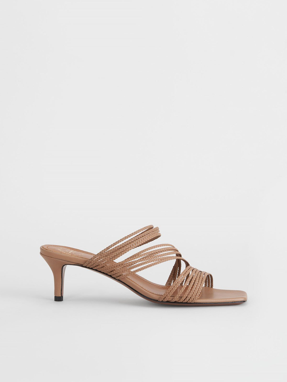 Avetrana Almond Heeled sandals