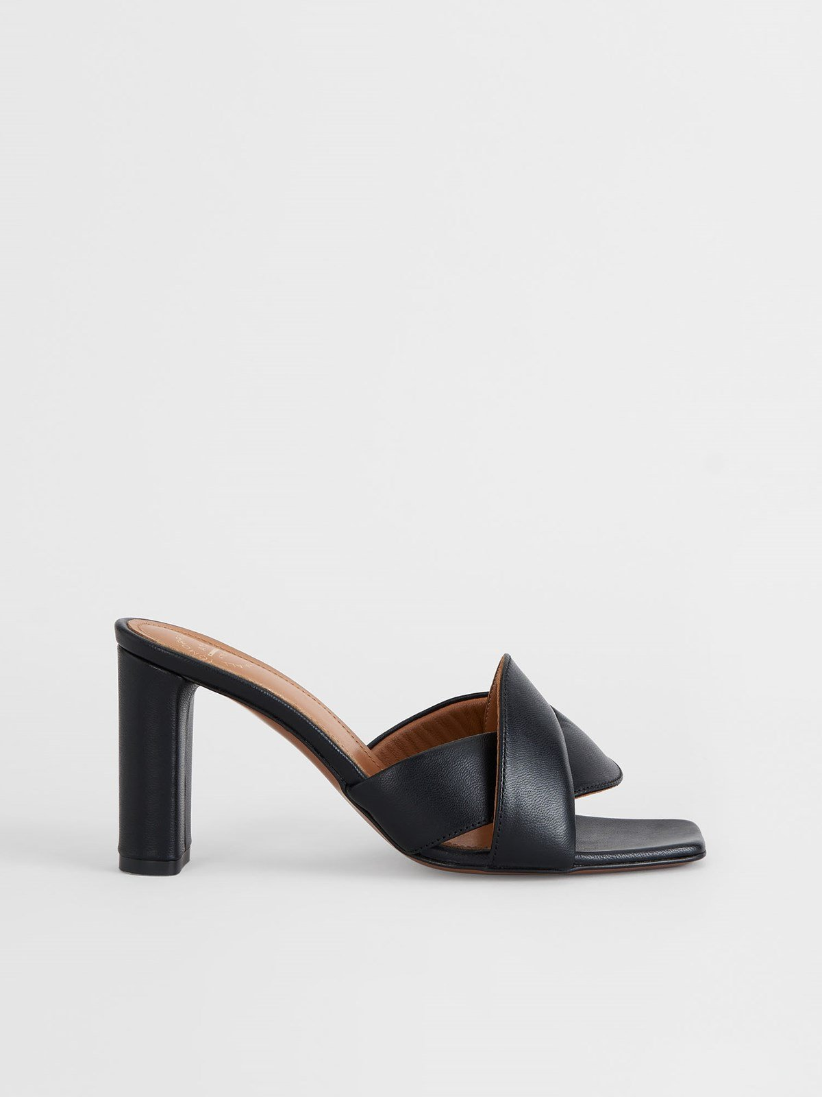 Bitritto Black Heeled sandals