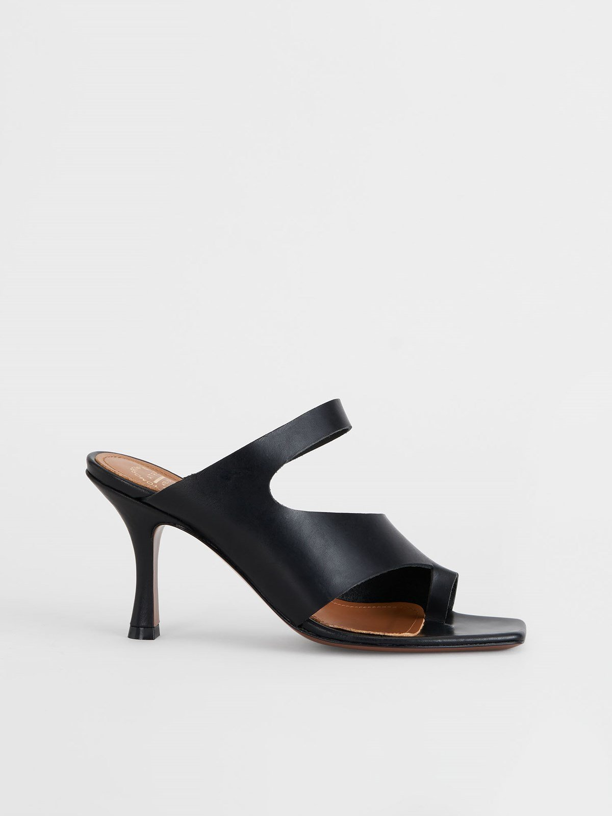 Aradeo Black Cutout heels