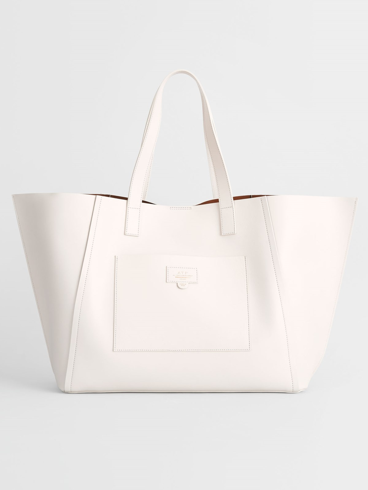 Conversano Ice White Large tote