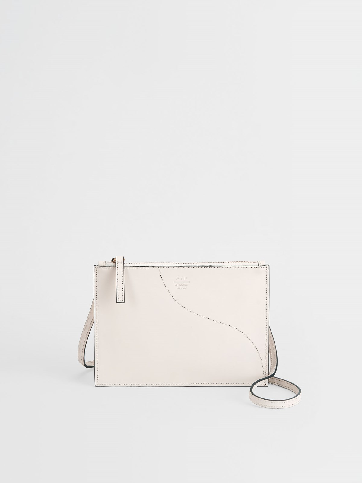 Lucca Ice White Crossbody bag