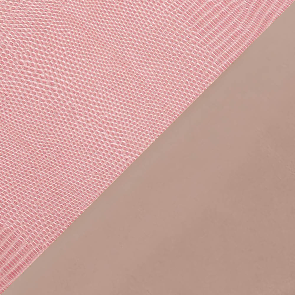 Candy Pink/Almond Printed Watersnake/Vacchetta