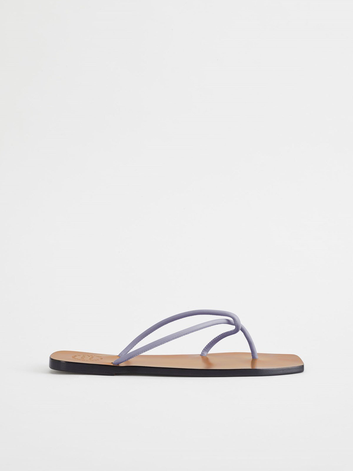 Alessano Lilac Flat Sandals