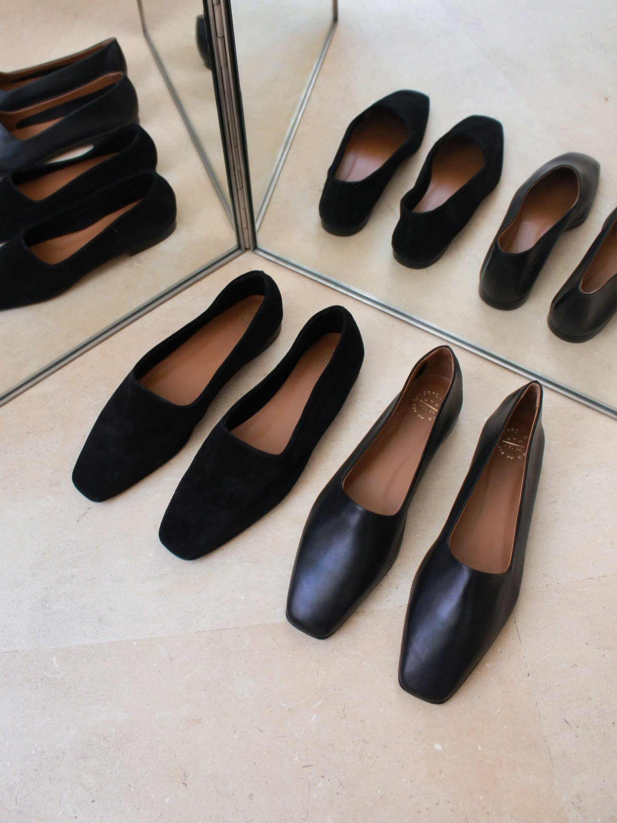 Andrano Black Loafers